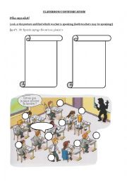 Classroom instructions exercise