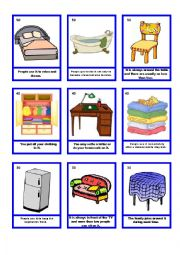 English Worksheet: House Guessing Game