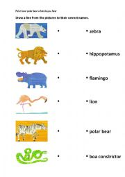 English worksheets This is worksheet for the storybook Polar