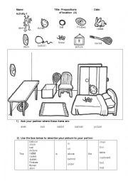 spanish prepositions worksheet worksheets for school leafsea. Black Bedroom Furniture Sets. Home Design Ideas