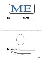 all about me book for young learners