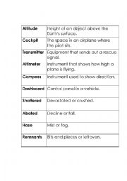 graphic relating to Hatchet Worksheets Printable identified as Hatchet Vocabulary - ESL worksheet by means of tereramoz