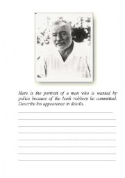English Worksheet: Describing appearance. Stereotypes.