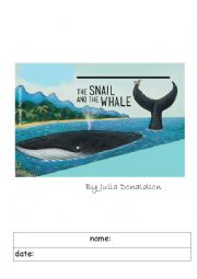 English Worksheet: The Snail and the Whale worksheets