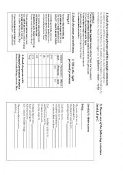 English Worksheet: BEING 14 PHRASAL VERB POEM