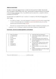 English Worksheet: desert island (slideshow)