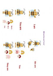 English Worksheet: bee&the verb