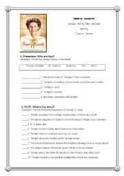 english worksheets temple grandin post movie activity. Black Bedroom Furniture Sets. Home Design Ideas
