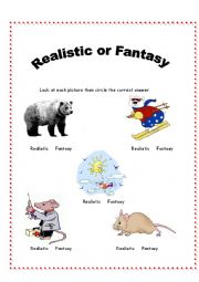 Worksheets Fantasy And Reality - Math Practice, Solved Problems ...