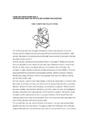 English Worksheet: READING ABOUT MARRIAGE AND LOVE