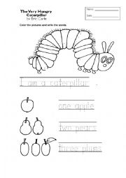 English Worksheet: This is worksheet for the storybook