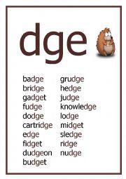 Dge Words for Pinterest