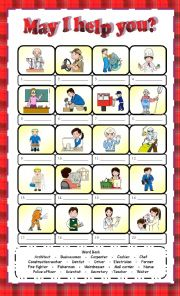May I help you? - ESL worksheet by Anna P