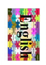 English Worksheet: English Jigsaw