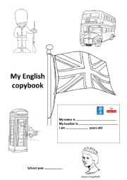 English Worksheet: Front page