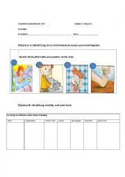 English Worksheet: keep a personal hygiene