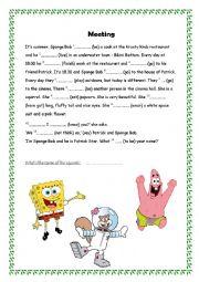 sponge bob (to be)