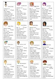 English Worksheet: Student´s Information