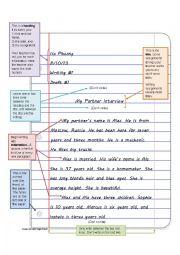 English Worksheet: Paragraph Style and Heading Explanation Sheet