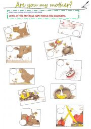 image about Are You My Mother Printable Book titled English worksheets: the pets worksheets, website page 149