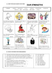 personal qualities - our strengths 1
