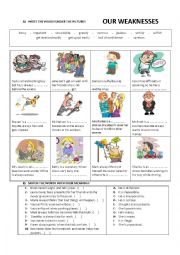 personal qualities - our weaknesses 2
