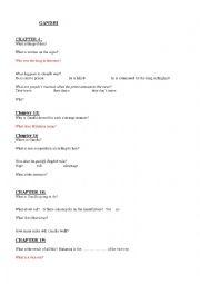 English Worksheet: GANDHI Worksheet Film