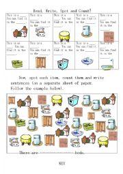Furniture & Appliances -Revision