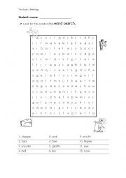 Wordsearch textbook: Little Bugs