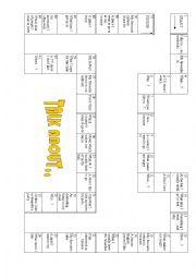 English worksheet: Chit Chat Board Game