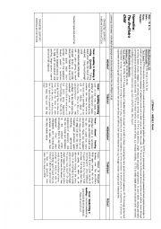 English Worksheet: GRUFFALO PLAN