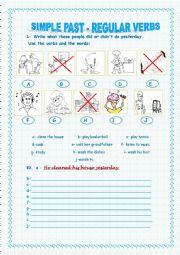 regular verbs for beginners