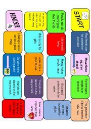 English Worksheet: Debate boardgame