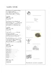 English Worksheet: I Got You Babe by Sonny and Cher