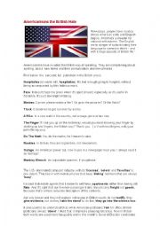 Americanism that british hate
