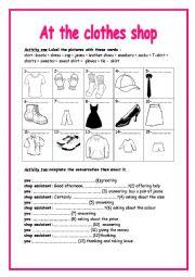 8th form  Module 4 lesson 4 shopping in Edinburgh