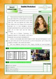 Personal Identification/ introduction Test + KEY VERSION B