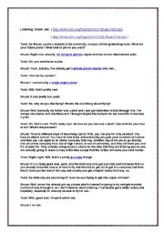 English Worksheet: Second Year Third Mid-Term Test.