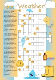 Crossword: Weather