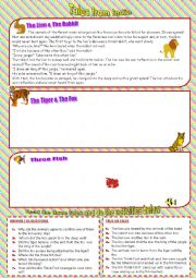 English Worksheet: Tales from India