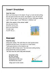 English Worksheet: Story Sequencing 2