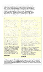 English Worksheet: If, by Kipling