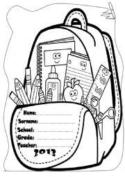 English Worksheet: My English portfolio