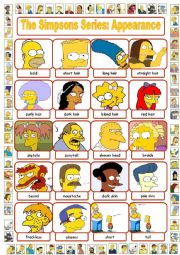 The Simpsons Series: Appearance Pictionary