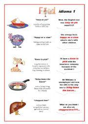 Food Idioms  1