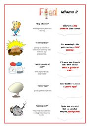 Food Idioms 2