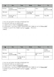English Worksheet: Dr. Appointment - Conditionals