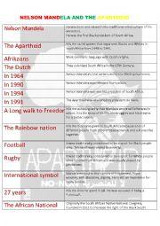 english worksheets nelson mandela and the apartheid. Black Bedroom Furniture Sets. Home Design Ideas