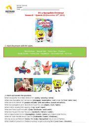 Sponge Bob - Christmas Activity