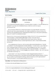 English worksheet: WORKSHEET FOR GRADES 7-8 (2ND)